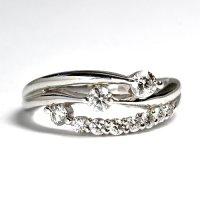 NEW☆豪華で素敵なスイート10(10周年)ダイヤリング!天然石ダイヤ・Pt900(プラチナ)・リング(指輪)売約済