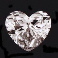 天然石ダイヤ・ハート・0.359ct・Iカラー・SI-2・婚約指輪に最適ですよ!!売約済