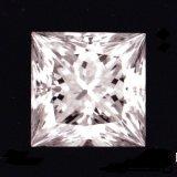 プリンセスカットダイヤ・天然石ダイヤ・0.281ct・Eカラー・VS-1・婚約指輪に最適ですよ!!売約済