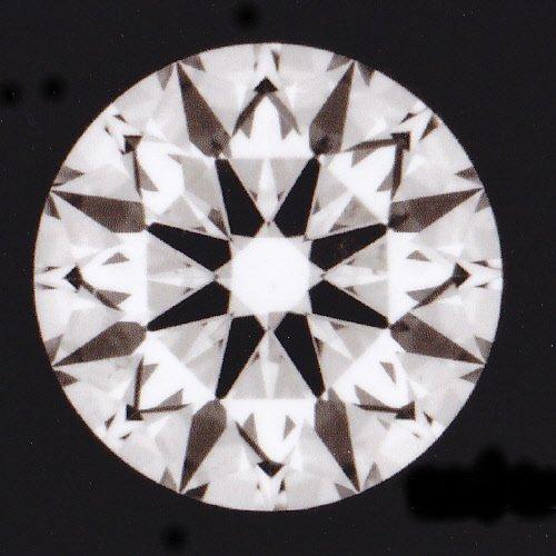 画像1: 天然石ダイヤ・ハート&キューピット・0.340ct・Gカラー・VS-1・EXCELLENT・婚約指輪に最適ですよ!