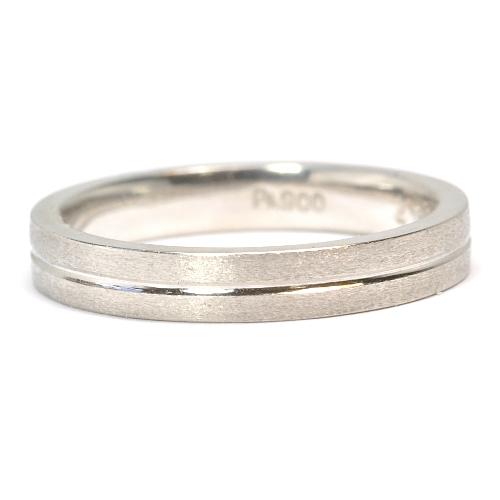 画像1: 手造り(ハンドメイド)・オーダーメイド結婚指輪(マリッジリング)Pt900(プラチナ)・リング(指輪)・女性用