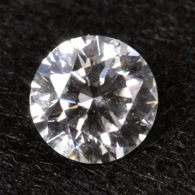 画像1: 天然石ダイヤ・0.374ct・Fカラー・VS-2・GOOD・婚約指輪に最適ですよ!!